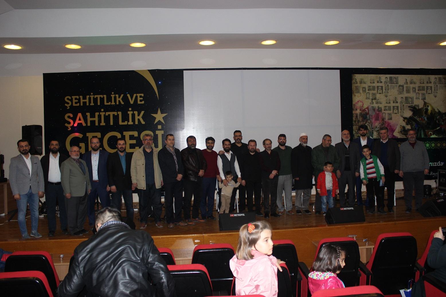 İMH Konya'dan Şehitlik ve Şahitlik Gecesi