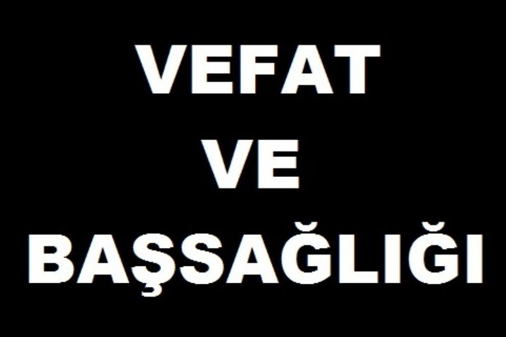 Mustafa Özer'in Kayınpederi Vefat Etmiştir.