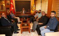 İMH Konya Yönetimi, Başkan ALTAY'ı Makamında Ziyaret Etti