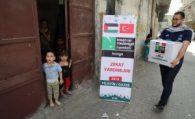 Konya'dan Yapılan Yardımlar Gazze'ye Ulaştı